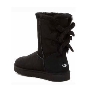 UGG Bailey Twinface Bow Corduroy Boot NIB Size 10